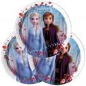 Mini-Partyteller Eiskönigin 2, Frozen 2 Patydeko, 8 Stück