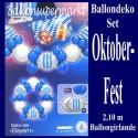 Oktoberfest-Ballongirlande, Selbstbau-Set, Dekoration mit Luftballons