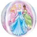 Luftballon Orbz Disney Princess, Folienballon mit Ballongas