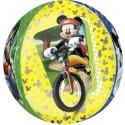 Luftballon Orbz Micky Maus, Folienballon mit Ballongas
