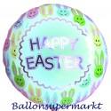 Osterhase-Luftballon, Happy Easter, frohe Ostern, mit Helium