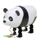 Panda-Bär, Airwalker Luftballon aus Folie mit Helium