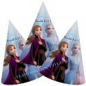 Partyhütchen Eiskönigin 2, Frozen II, 6 Stück