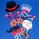 Party Props zum Geburtstag, Foto Requisiten, 10 Stück