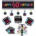 Geburtstagsdekorations-Set zum 40. Geburtstag, Celebrate