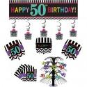 Geburtstagsdekorations-Set zum 50. Geburtstag, Celebrate