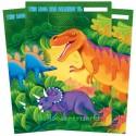 Dinosaurier Party-Tüten, 8 Stück