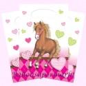 Pferde Party-Tüten, 6 Stück