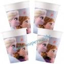 Eiskönigin 2 Partybecher aus Pappe, Frozen 2 Partydekoration, 8 Stück