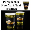 Partybecher, New York, 10 Stück