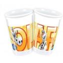 Olaf, Frozen, Partybecher, 8 Stück