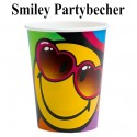 Smiley Partybecher