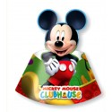 Partyhütchen Micky Maus Clubhouse, 6 Stück