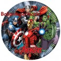 Avengers, Partyteller, 8 Stück