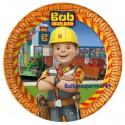 Bob der Baumeister Party-Teller