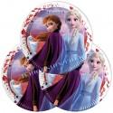Eiskönigin 2 Partyteller, Frozen 2 Patydeko, 8 Stück