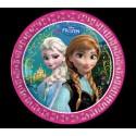 Frozen, Partyteller, 8 Stück, Elsa und Anna, Eiskönigin