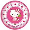 Hello Kitty, Partyteller, 8 Stück