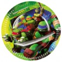 Ninja Turtles, Partyteller, 8 Stück