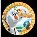 Olaf, Frozen, Partyteller, 8 Stück