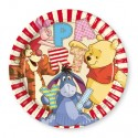 Winnie the Pooh Partyteller, 8 Stück