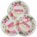 Partyteller Tropisch, Mottoparty Hawaii, 10 Stück