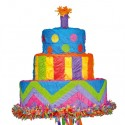 Birthday Cake Pinata, Geburtstagstorte