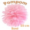 Pompom, Rosé, 25 cm