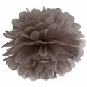 Pompom, Braun, 35 cm