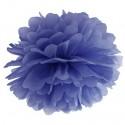 Pompom, Marineblau, 35 cm
