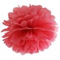 Pompom, Rot, 35 cm
