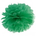 Pompom, Smaragdgrün, 35 cm