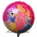 Luftballon Prinzessinnen von Walt Disney, Princess Folienballon ohne Ballongas