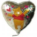 Pooh Bär Luftballon, Folienballon mit Ballongas-Helium