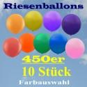 Riesenluftballons 450er Rund 10 Stück