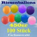 Riesenluftballons 450er Rund 100 Stück