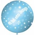 """Riesenluftballon """"Es ist ein Junge"""", Babyblau, 1 Stück"""