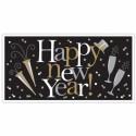 Silvester Dekoration, Riesenbanner, Happy New Year