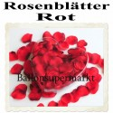 Rosenblätter rot, 200 Stück