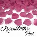 Rosenblätter Pink, 100 Stück