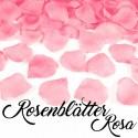 Rosenblätter Rosa, 100 Stück