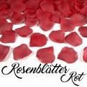 Rosenblätter Rot, 100 Stück