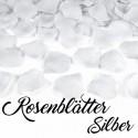 Rosenblätter Silber, 100 Stück