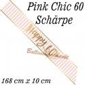 Schärpe Pink Chic 60 zum 60. Geburtstag