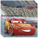 Kindergeburtstag-Party-Servietten Cars 3