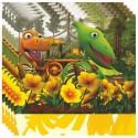 Dinosaurier Kindergeburtstag-Party-Servietten, 20 Stück