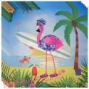 Servietten Flamingo, 20 Stück