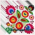 Servietten Hippie-Party, Flower Power, 20 Stück