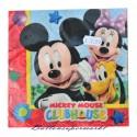 Kindergeburtstag-Servietten Mickey Mouse