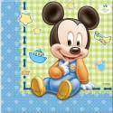 Kindergeburtstag-Party-Servietten Baby Micky Maus